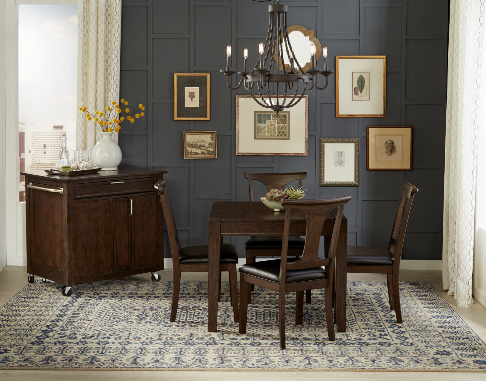 Remarkable Brooklyn Heights Square Leg Table Furniture Walk Beutiful Home Inspiration Aditmahrainfo