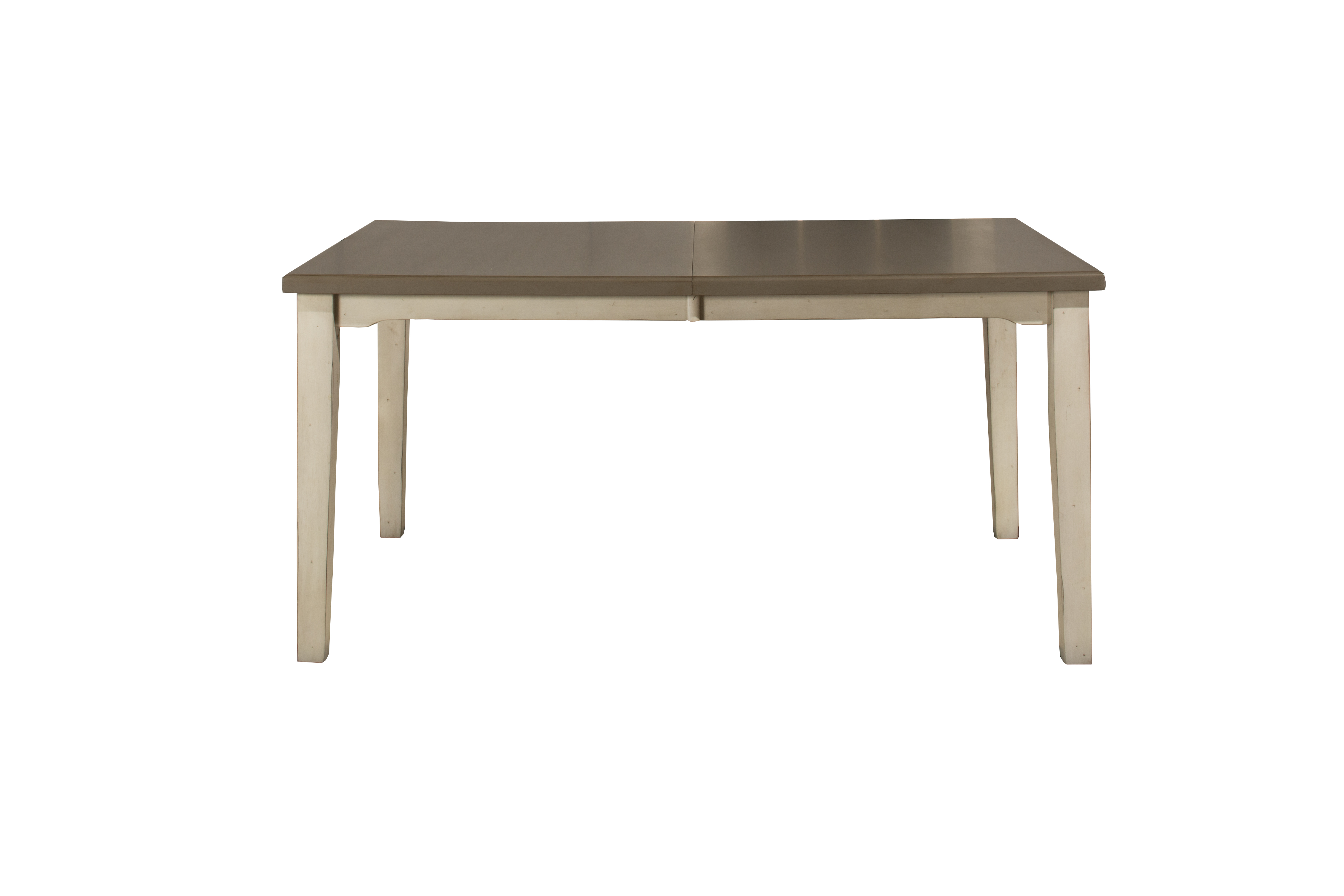 Clarion Rectangle Dining Table Distressed Gray Top With